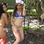 Clarina Ospina & Angie Narango Trick or Treat Group 22 TM4B HD Video 022