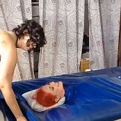LatexBarbie Pink Catsuit Blue Vacuum Bed Liveshow HD Video 220318 mp4