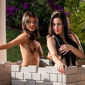 Luciana Model Michelle Romanis & Poli Molina Just The Hair Group 18 TM4B Picture Set 018