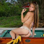 Mary Mendez White Bikini TM4B Set 010 0282
