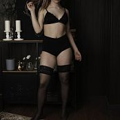 TaoZips Sarah Black Stockings 0164