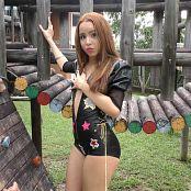 Mellany Mazo Shiny Black Zippered One Piece TBS 4K UHD Video 004 010418 mp4