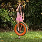 Ximena Goez Sheer Pink Lingerie TM4B Set 018 1254