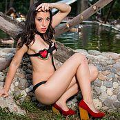 Natalia Marin Red Heart T Back TCG Set 002 023