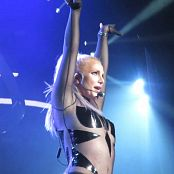 Britney Spears Work Bitch Goddess In Latex Catsuit Live POM HD Video