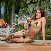 Dayana Medina Super Tiny Green Bikini TCG Set 002 011