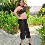 Silver Pearls Marisol Black Lace Set 3 0703