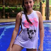 Silver Pearls Marisol Pool Picture Set 1
