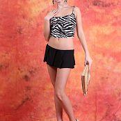 Silver Jewels Alice Black Skirt Set 5 730