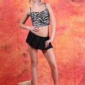 Silver Jewels Alice Black Skirt Set 5 740