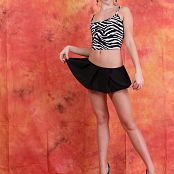 Silver Jewels Alice Black Skirt Set 5 784