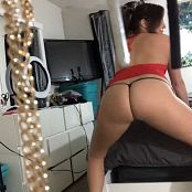 Kalee Carroll OnlyFans Red Dress Roll Up HD Video 100418 mp4