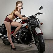 Silver Jewels Alice Motorcycle Set 1 1041