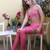 Silver Jewels Alice Pink Lace Set 3 1342