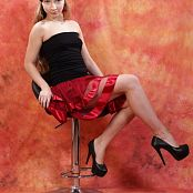 Silver Jewels Alice Red Skirt Set 2 2092