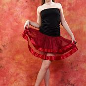 Silver Jewels Alice Red Skirt Set 2 2150
