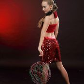 Silver Jewels Alice Red Skirt Set 4 2205