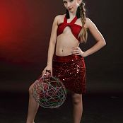 Silver Jewels Alice Red Skirt Set 4 2220