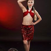 Silver Jewels Alice Red Skirt Set 4 2258