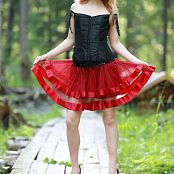 Silver Jewels Alice Red Skirt Set 5 2316