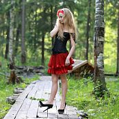 Silver Jewels Alice Red Skirt Set 5 2355