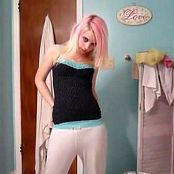 Super Cute Blonde Dancing and Teasing The Camera Video