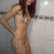 Mellany Mazo Dancing Naked In The Shower Custom HD Video