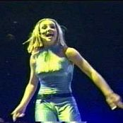 Britney Spears Oops I Did It Again Live Memphis Rare Blue Catsuit Video
