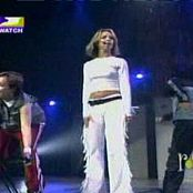 Britney Spears White Outfit 210418 ts