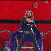 Britney Spears Black Latex Outfit Onyx Hotel Tour Toxic 1080p 210418 ts
