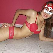 Mellany Mazo Red Lingerie Custom 031