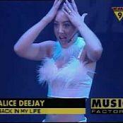 Alice Deejay Back In My Life Live At Pepsi Pop 1999 260518 avi