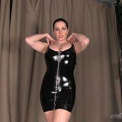 Goddess Alexandra Snow Black and Shiny 260518 mp4