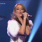 Kylie minogue red looded woman ech 260518 avi