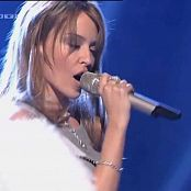 Kylie Minogue Red Blooded Woman Live Video