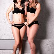TaoZips Alice and Sarah Sexy In Black 209