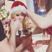 Ariel Rebel Xmas Promo with Veronica Vice BTS Pics 172