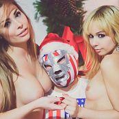 Ariel Rebel Xmas Promo with Veronica Vice BTS Pics 229
