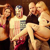 Ariel Rebel Xmas Promo with Veronica Vice BTS Pics 234