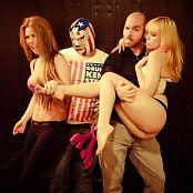Ariel Rebel Xmas Promo with Veronica Vice BTS Pics 235