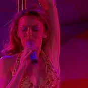 Kylie Minogue Physical Sexy Pole Dance With Dancers Video