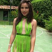 Angie Narango Green String Top and Thong TCG HD Video 002 140618 mp4