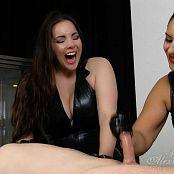 Goddess Alexandra Snow & Mistress Ezada Sinn Grueling Forced Orgasm HD Video