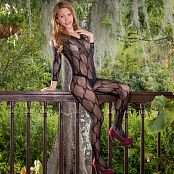 Mary Mendez Sheer Body Suit TCG Picture Set 002