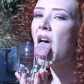 Audrey Hollander Piss Drinking Out of Wine Glass Video