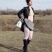 Jeny Smith Me Posing Around The City 0743