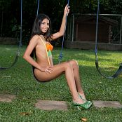 Wendy Mazo Green and Orange Body Paint TBS Set 012 010