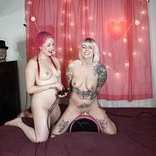 Abbey Mars & LatexBarbie Rides The Sybian HD Video