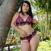 Yamile Black & Pink Lingerie TCG Picture Set 001