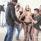7on1 Double Anal GangBang Selvaggia with Sperma Party GIO340 HD Video 110718 mp4